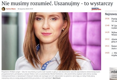 Psycholog Magdalena Widłak-Langer Gazeta Pomorska