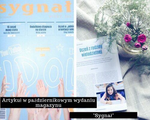 Artykuł w magazynie