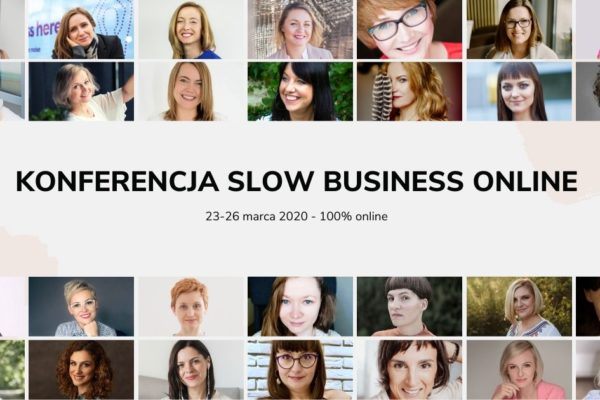 Konferencja Slow Business Online