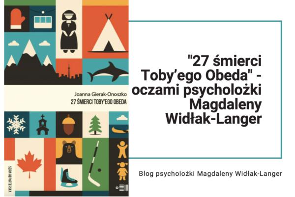 """""""27 śmierci Toby'ego Obeda"""""""